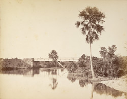 Iron girder bridge at Toongee [Tungi], near Dacca